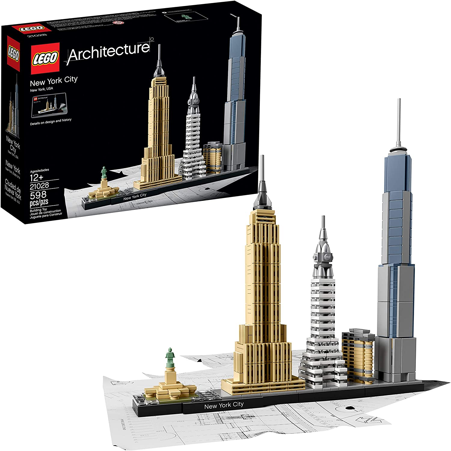 LEGO architecture New-york